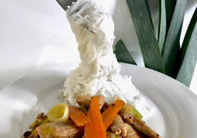 ryžovré rezance