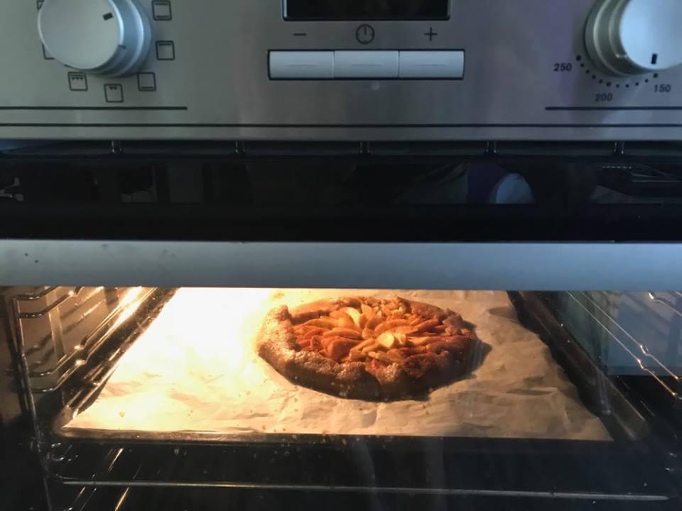 Bezlaktózový jablkový koláč