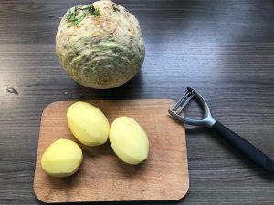 nízkohistamínový recpept zo zellera na pink onion