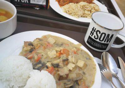 bezlepkový obed pre celiatikov