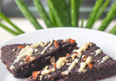 bezlepkový cuketový koláč
