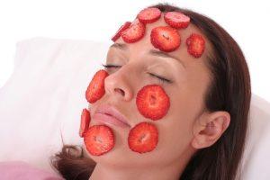 zdravé jahody na pleť