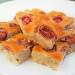 jahodová koláč