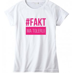 intolerantné tričko